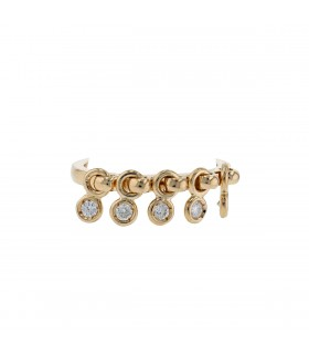 Dior Coquine diamonds and gold ring