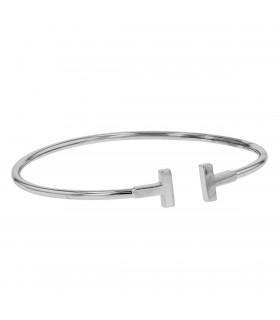 Tiffany & Co. Wire Tiffany T gold bracelet