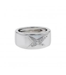Mauboussin Etoile Divine diamonds and gold ring