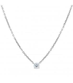 Mauboussin Mon Premier Pas d'Amour diamonds and gold necklace