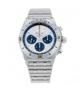 Breitling Chronomat stainless steel watch