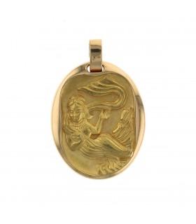 Cartier gold pendant