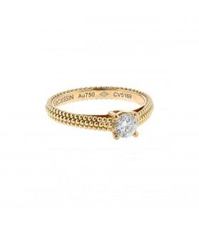 Mauboussin Fan du Premier Jour diamond and gold ring