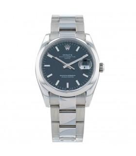 Rolex Date stainless steel watch