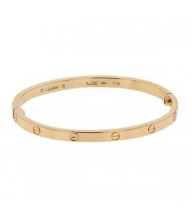 Cartier Love gold bracelet Size 15