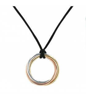 Cartier Trinity gold necklace