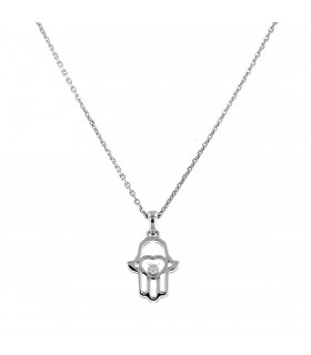 Chopard Good Luck Charms diamond and gold necklace