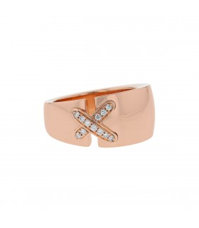 Chaumet Liens diamonds and gold ring