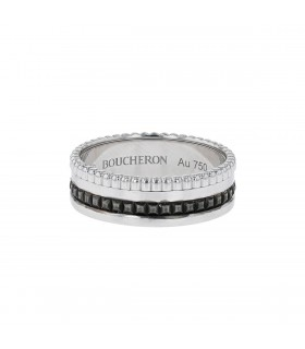 Boucheron Quatre Black gold ring