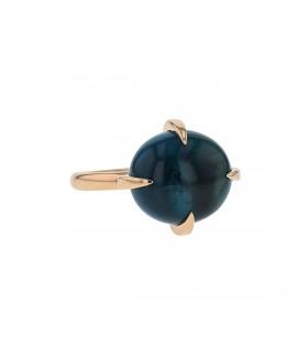 Pomellato Veleno topaz and gold ring