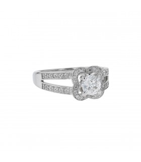 Mauboussin Chance of Love diamonds and gold ring
