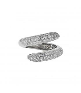Chaumet Tango diamonds and gold ring