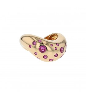 Fred gold and rubies ring