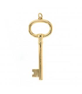 Tiffany & Co. Keys gold pendant