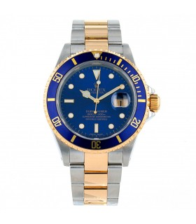 Rolex Submariner gold and stainless steel watch