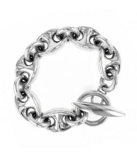 Hermès Neptune silver bracelet