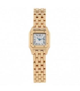 Cartier Panthère gold watch