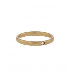 Pomellato Lucciole diamond and gold ring