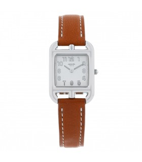 Hermès Cape Cod stainless steel watch