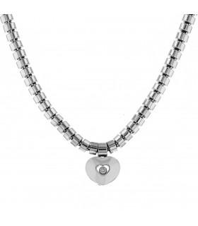 Chopard Happy Diamonds diamonds and gold necklace