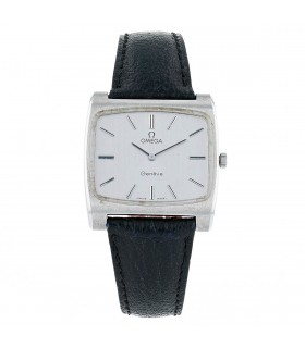 Omega stainless steel watch