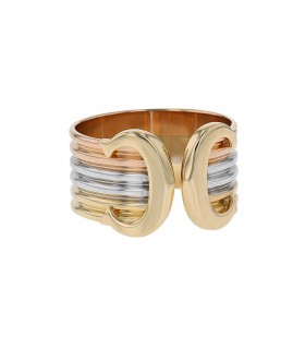 Cartier Double C gold ring