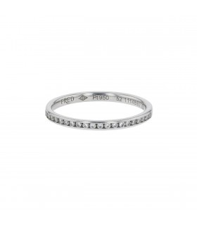 Fred For Love diamonds and platinum ring