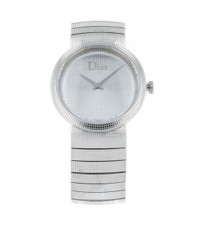 Dior La D stainless steel watch