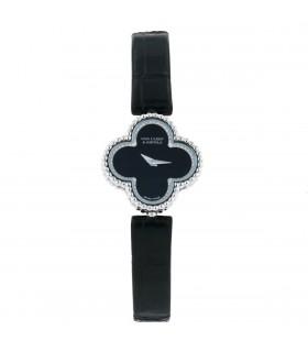 Van Cleef & Arpels Sweet Alhambra diamonds and gold watch