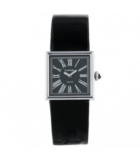 Chanel Mademoiselle stainless steel watch