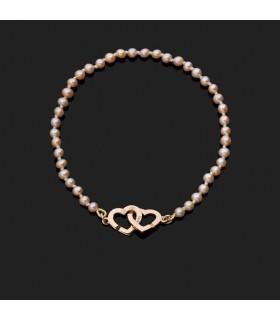 Bracelet Dinh Van Double Coeurs R9