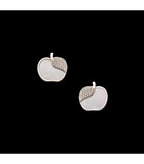 Boucles d'oreilles Victoria Casal Pom Pom