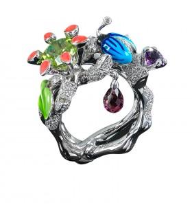 Bague Dior Collection Milly Carnivora Epinosa Diamants