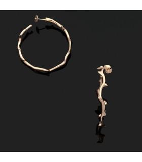 Boucles d'oreilles Dior Bois de Rose